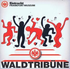Die Waldtribüne gegen Hertha BSC im Zeichen von Anton Hübler