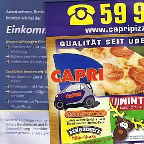 @ Jutta Hohl und Capri Pizza