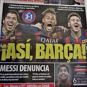 Camp Nou. Wo die Stille zuhause ist.