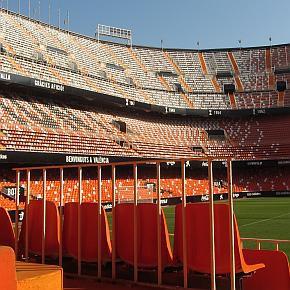 Das Stadion in Valencia - Mestalla